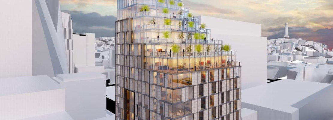Long-delayed FiDi luxury hotel gets sleek new proposed design, still nowhere near approval