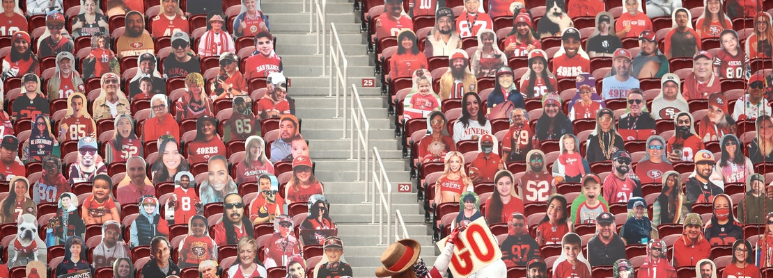 49ers organization holds out hope as Santa Clara decides there will be no fans at Levi's Stadium games