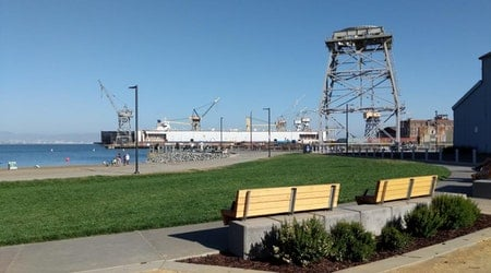 Crane Cove Park opens near Mission Bay — with sandy beaches and grassy lawns