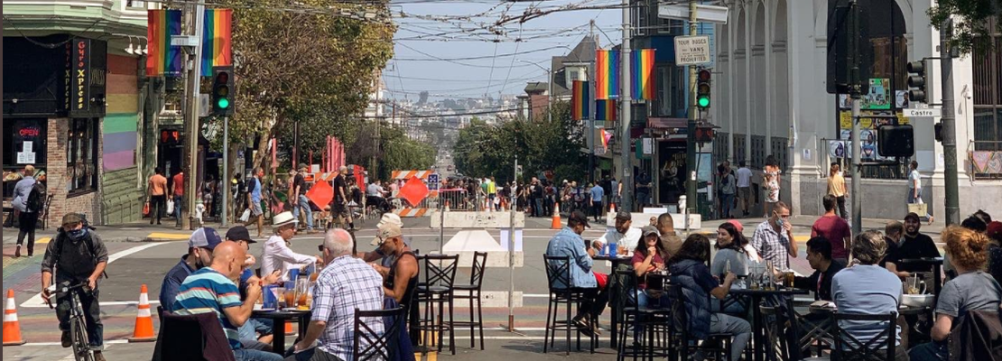 Long live the new parklets as 'Shared Spaces' program gets extended through June 2021