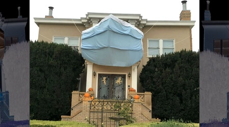 This West Portal house wins SF Halloween 2020 with brilliant mask display