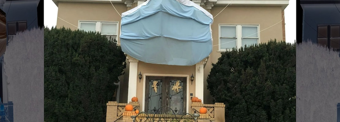How In Baltimore Have The Best Halloween Displays In 2020 This West Portal house wins SF Halloween 2020 with brilliant mask