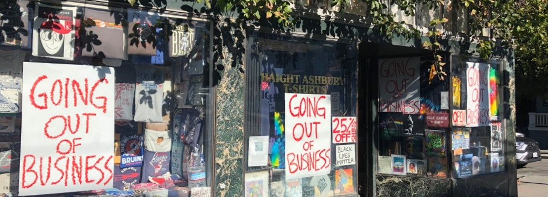 Citing pressures of the pandemic, Haight Ashbury T-Shirts to close this winter after 43 years