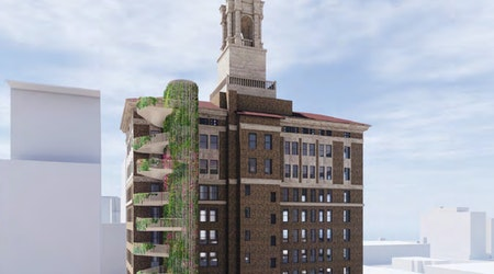 Historic downtown San Jose building, the Bank of Italy tower, gets ready for makeover