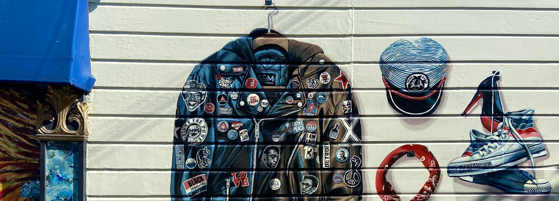 Artists continue to paint Castro murals with focus on diverse voices