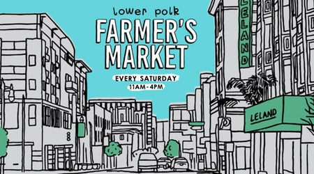 Lower Polk welcomes new Saturday farmers' market starting tomorrow