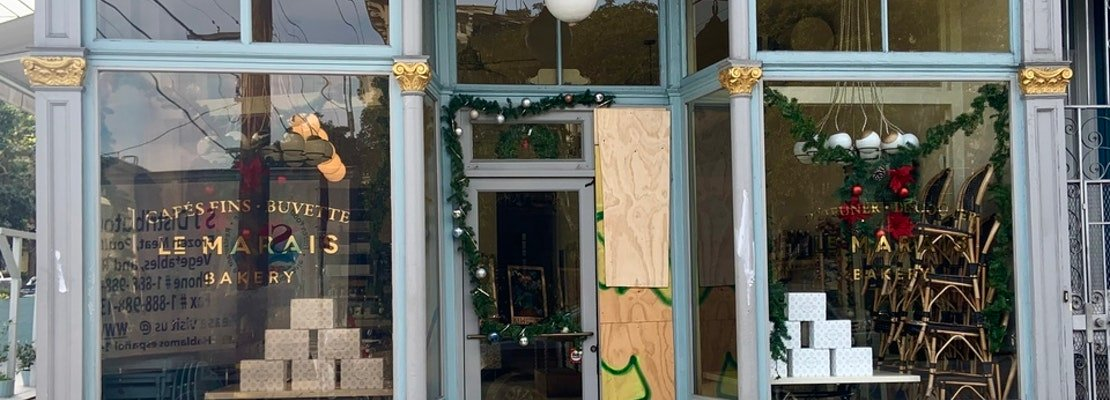 Le Marais Bakery gets burglarized for third time this year, this time in the Castro