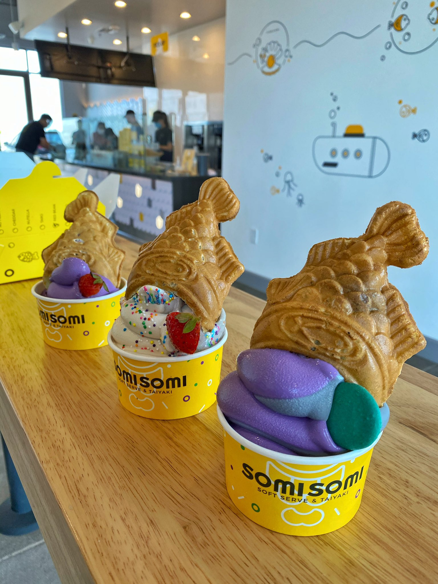 Somi Somi ice cream cones