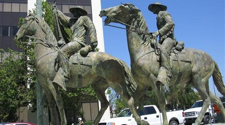 Much-hated statue in San Jose is finally headed to a storage yard
