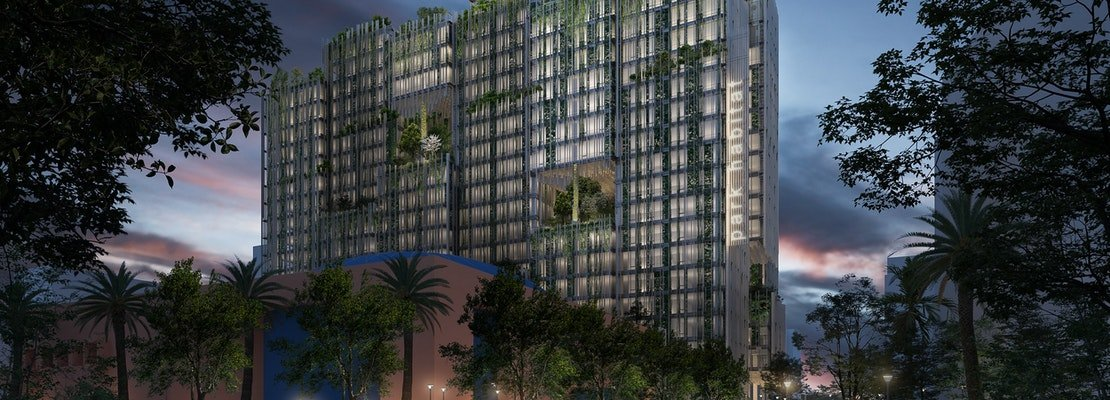 Proposed San Jose highrise has park-like concept built into several levels