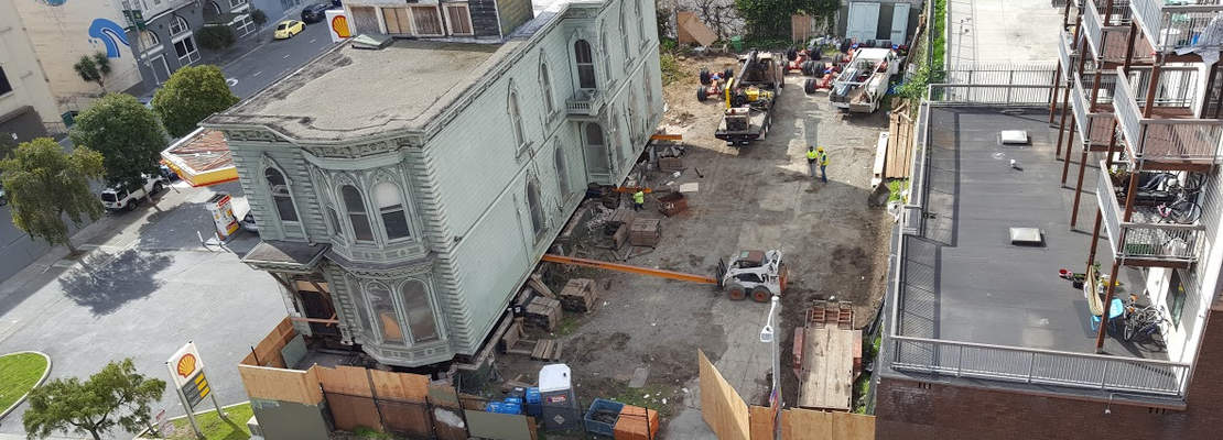 Historic Victorian to be moved from Franklin Street to Fulton Street on Sunday