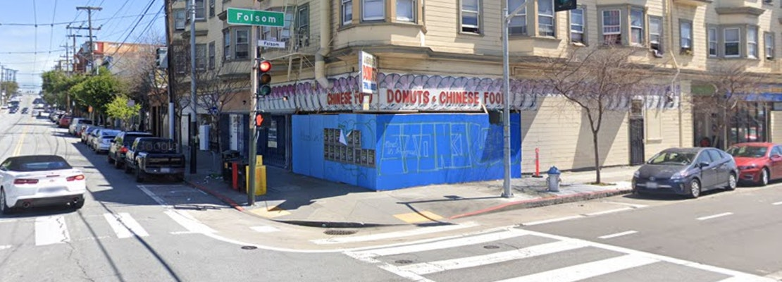 Popular Mission District restaurant J. Georgie's Donuts (& Chinese Food) is for sale