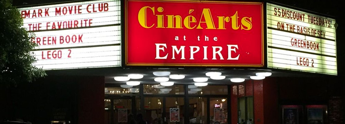West Portal loses CineArts at Empire to the pandemic