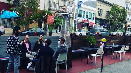 Blue Plate, Emmy's Spaghetti Shack, El Buen Comer, Royal Cuckoo all open for outdoor delights in Bernal/La Lengua