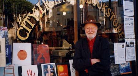 Lawrence Ferlinghetti, poet and founder of City Lights Booksellers, dies at 101