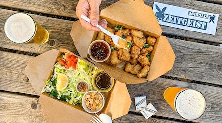 Burma Love and Zeitgeist team up to offer new lunch service in Zeitgeist's beer garden
