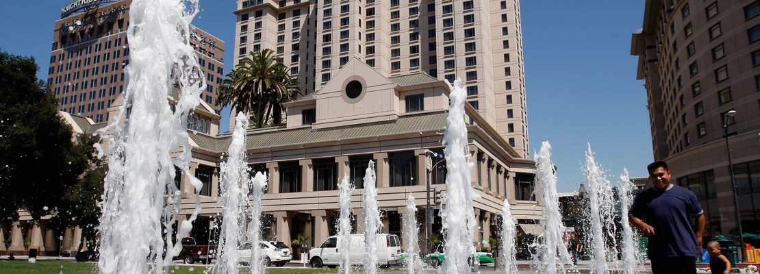 San Jose's Fairmont Hotel files for bankruptcy, evicts pro hockey team and other guests
