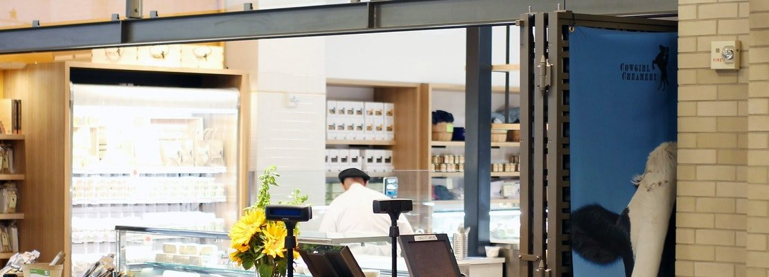 Cowgirl Creamery shuts down its Ferry Building store; Slanted Door will reopen after renovation