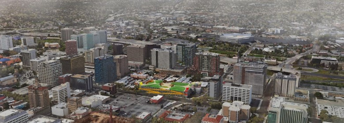 Park-like rooftop 'people deck' planned for large South Bay parking garage