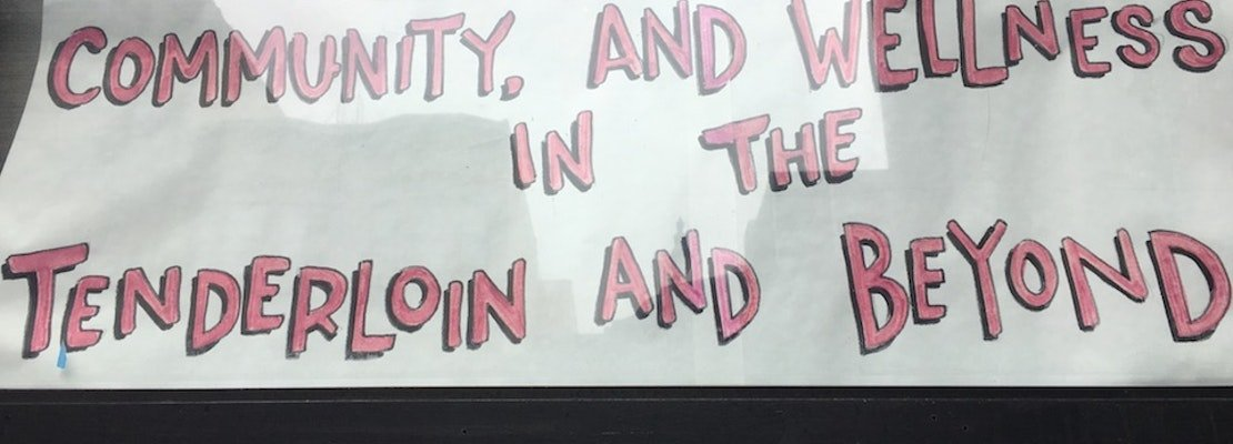 The Healing WELL celebrates strengths of the Tenderloin through innovative window displays