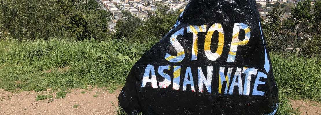 Bernal Rock stands up against violence toward Asian-Americans