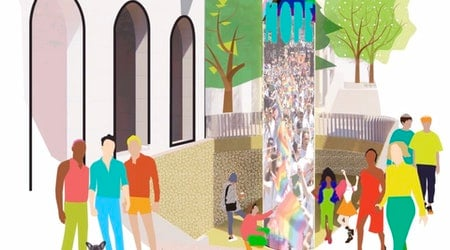 Community provides feedback & criticism at Harvey Milk Plaza redesign town hall