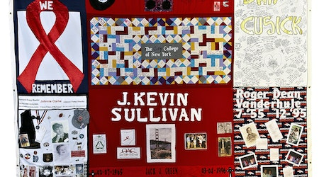 AIDS Memorial Quilt panels to be displayed Sunday in Castro