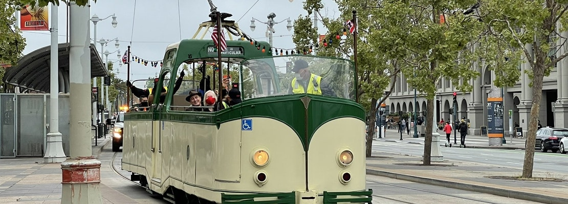Watch: The F-Line 'Boat Tram' returns with ribbon-cutting celebration