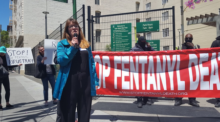 Mother of fentanyl user speaks out: Protests and promises are not enough