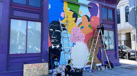 Queer artists of color installing two murals at prominent Castro & Duboce Triangle locations