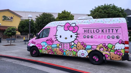 The Hello Kitty Cafe Truck is coming to Stonestown Galleria on Saturday