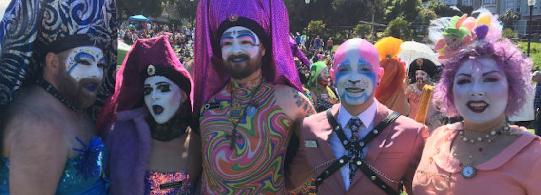 Sisters of Perpetual Indulgence throwing a Pride prom at the Westfield Mall