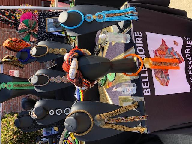 Photo: Belle Noire Accessories, Oakland Black Pride, MJ Carter