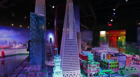 Video: See the Bay Area in miniature, built from 1.5 million Legos at Legoland Discovery Center Bay Area
