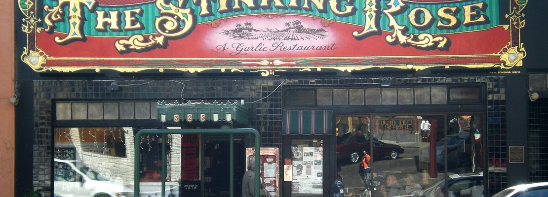 30-year-old North Beach staple The Stinking Rose seeks new owner to reopen, keep it going