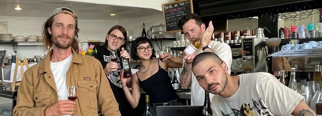 Bar Part Time, a natural wine bar with upbeat party vibes, takes Thieves Tavern space