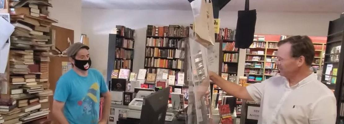 Unmasked agitators target popular San Jose bookstore and other shops