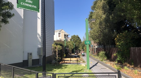 """Mission District mini-park reopens with """"adult monkey bars"""" after $1.9 million facelift"""
