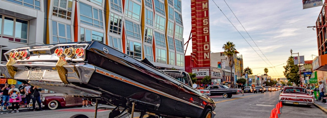 Lowrider art show rolls in to Mission Cultural Center