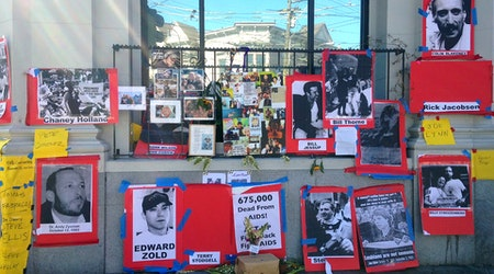 Photo: ACT UP Members Remembered At 18th & Castro