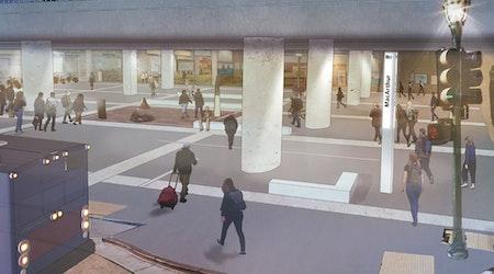 MacArthur BART kicks off 2-year plaza redevelopment