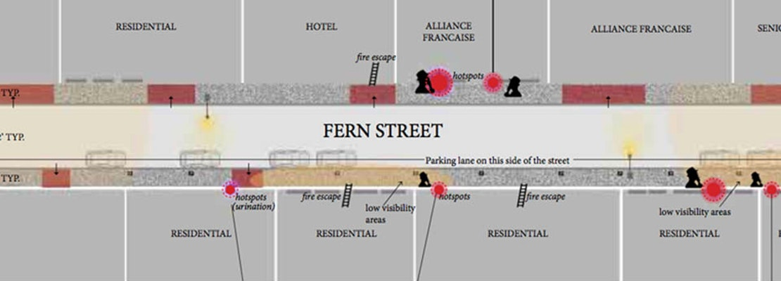 Pedestrian-Friendly Remodel Of Fern Street, More Polk Alleys In The Works