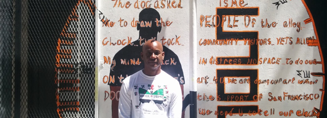 Despite Displacement, 'Vets Alley' Artists Focus On Healing