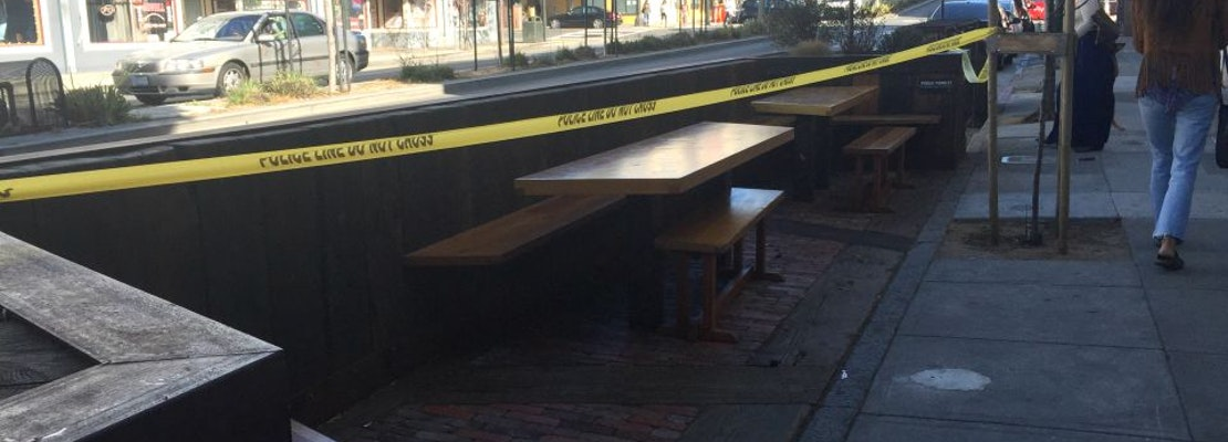 Man Found Dead In Parklet Outside The Mill [Updated]
