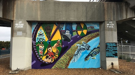 New murals aim to bring attention to still-unfinished East Bay Greenway