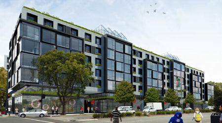 204-unit residential building with Whole Foods store on the way to 51st & Telegraph