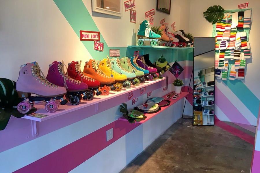 Moxi Roller Skate Shop now open in