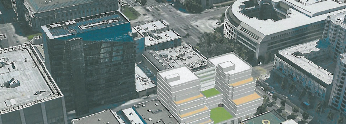 Plans Filed To Bring 9-Story Mixed-Use Building To Former Van Ness McDonald's