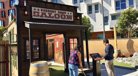 Now open in Mission Bay: SF's first outdoor mini-golf course