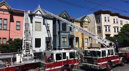 Fire Quickly Contained At 934 Oak Street